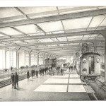 Transbay Transit Center-Artist's Rendering of Train Platforms (1938)