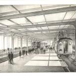 Transbay Transit Center-Artist's Rendering of Train Platforms (1938)