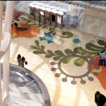 Transbay Transit Center Grand Hall Terrazzo Floor Design