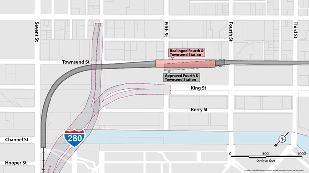Fourth-and-Townsend-Underground-Station-Realignment