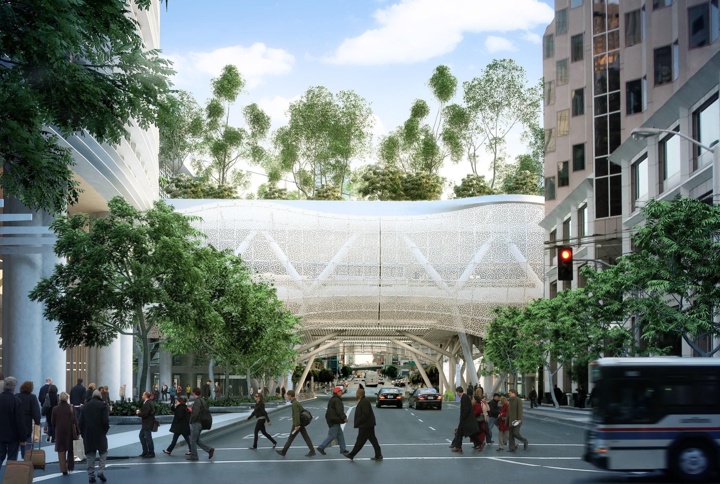 Transit Center Architecture Transbay Center
