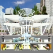 Cross Section View of the new Transbay Transit Center