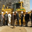 Temporary Terminal Groundbreaking