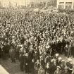 Crowd Gathers At The Opening Of The New Transbay Terminal (1939)