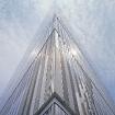 James Carpenter: Seven World Trade Center, Exterior – Podium Light Wall, 2002-07